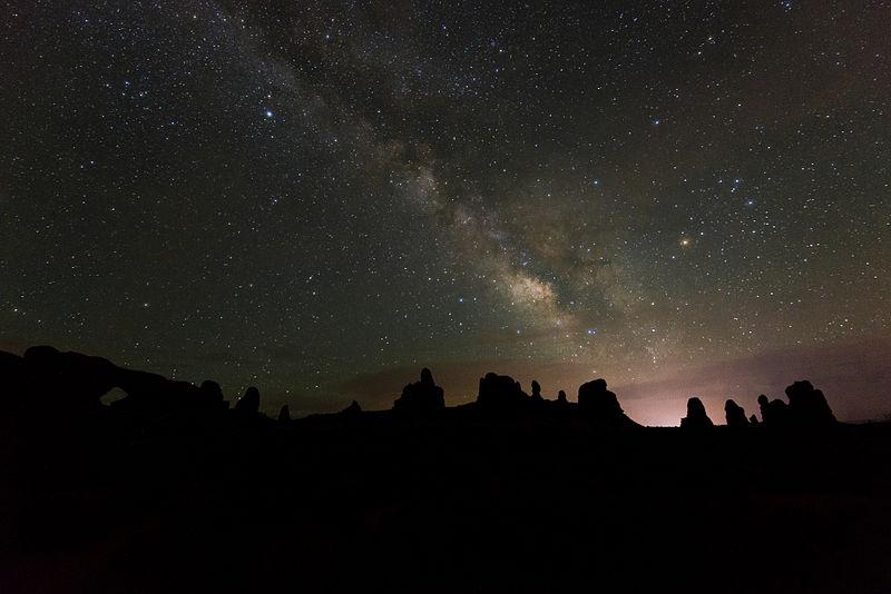 Stars above Utah
