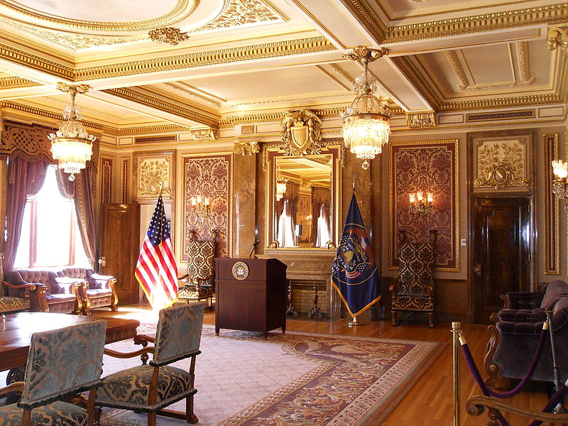 "The Capitol's ""Gold Room"""