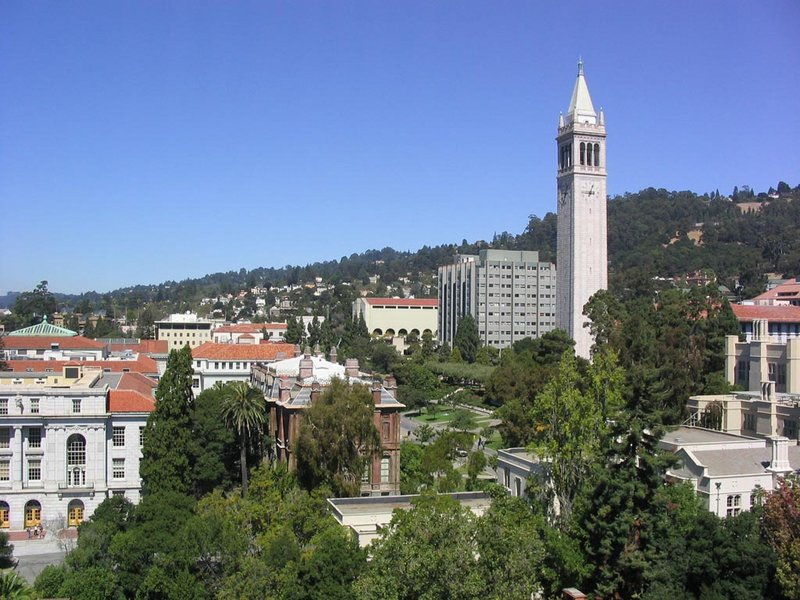 UC Berkeley, with Sather Tower