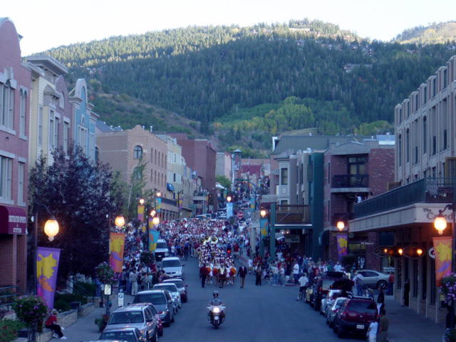 USC on Park City's Main Street