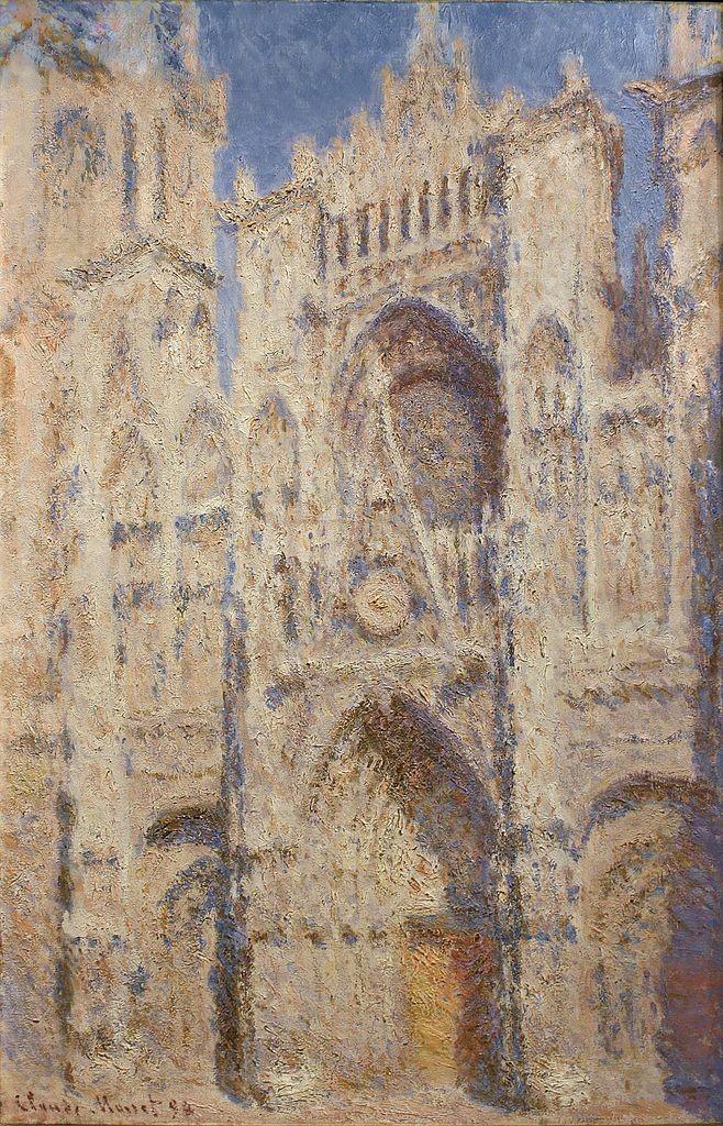 1894 Monet Rouen