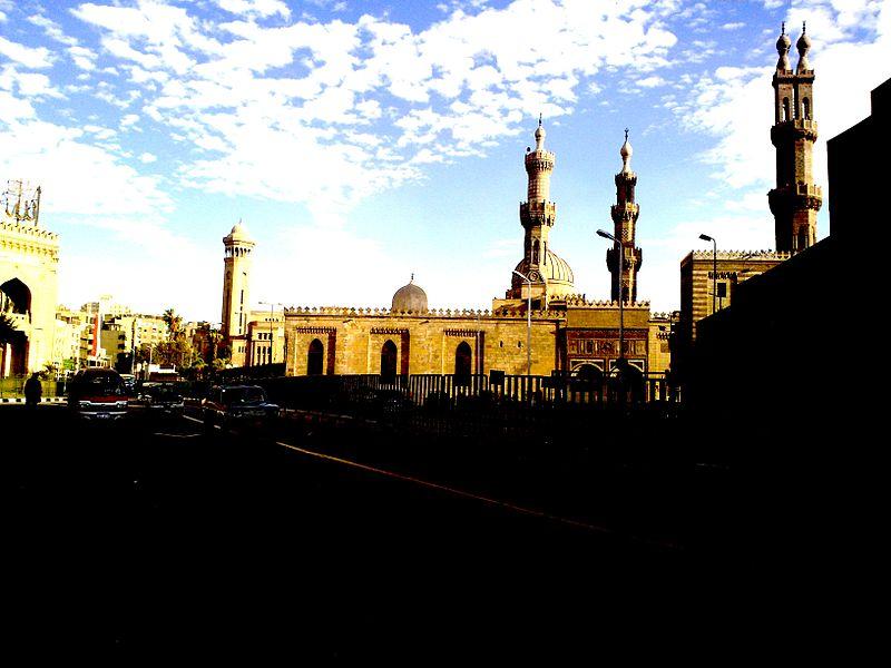 Al-Azhar, in the evening