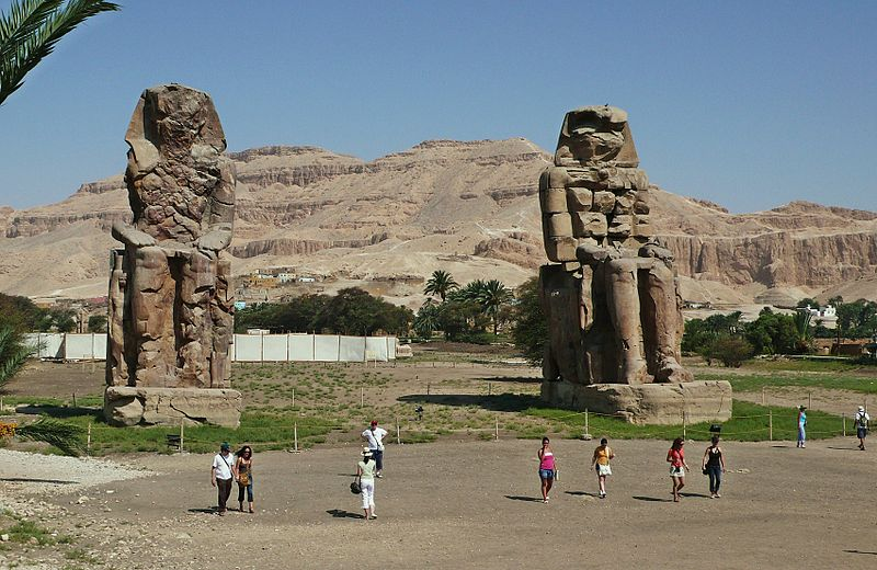 Amenhotep's great statues