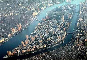 Zamalek from the air