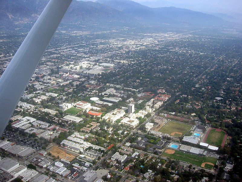 Caltech from the air