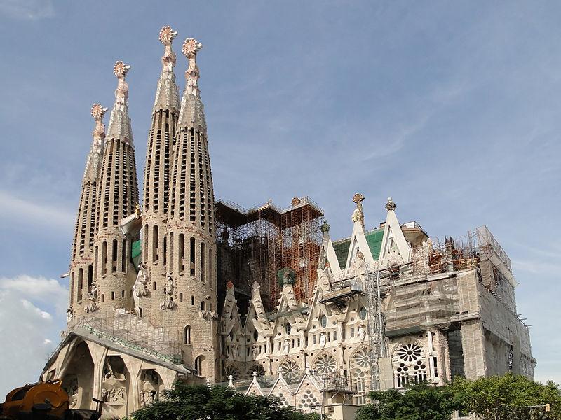 W. Facade Holy Family Barcelona