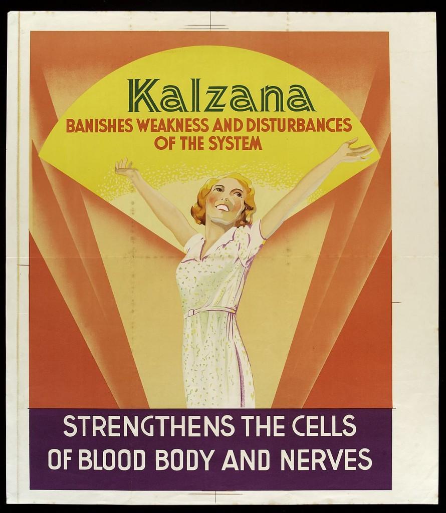 Kalzana patent medicine