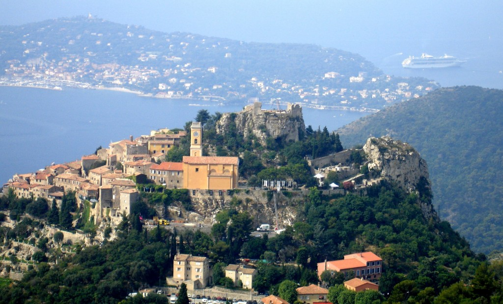 Eze, from a distance