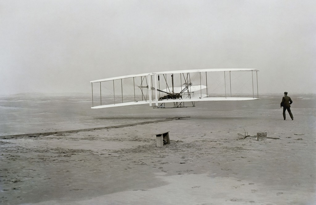 Orville and Wilbur Wright in North Carolina