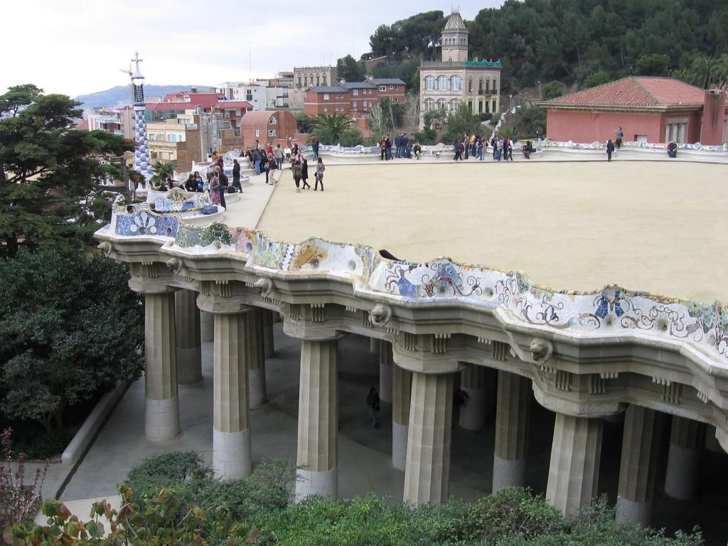 """Park Güell's central """"park"""""""