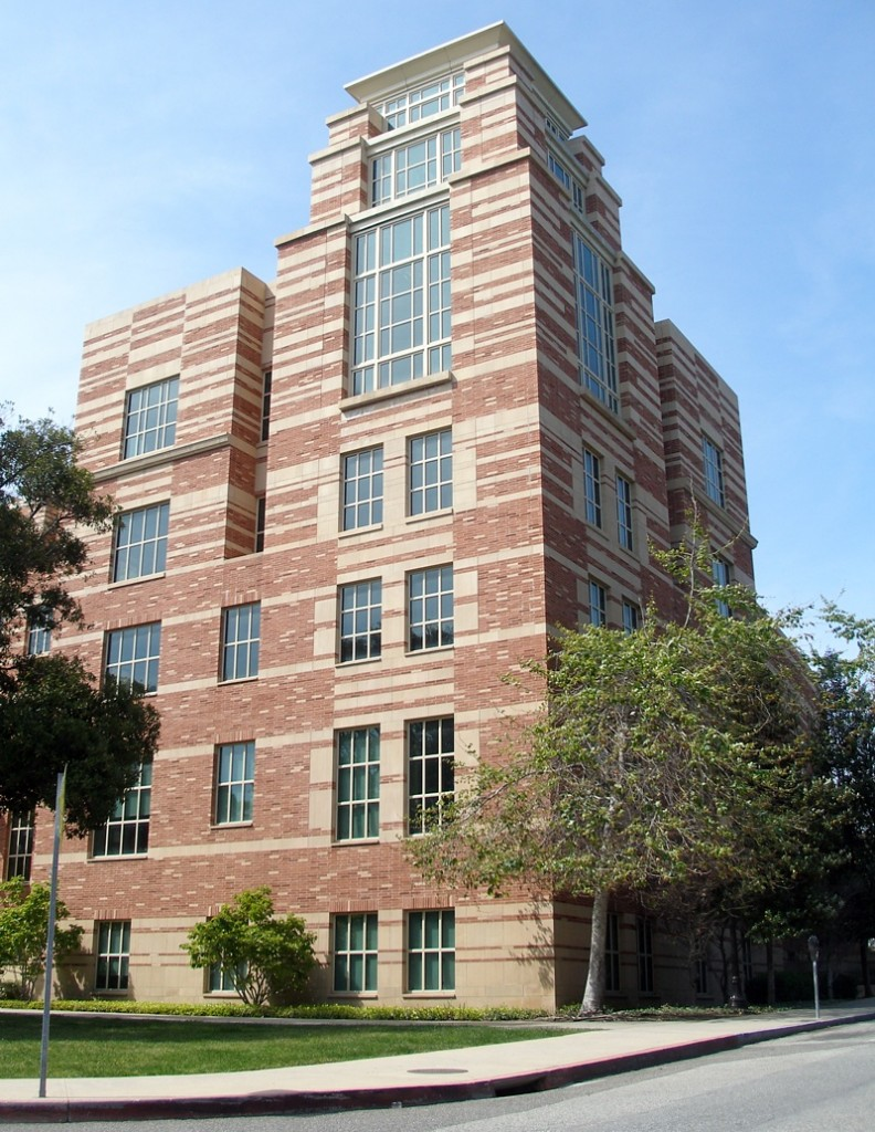 UCLA Law School tower