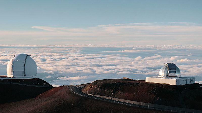Linsdell, on Mauna Kea