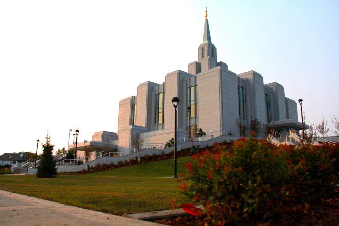 Cardston's temple is no longer alone.