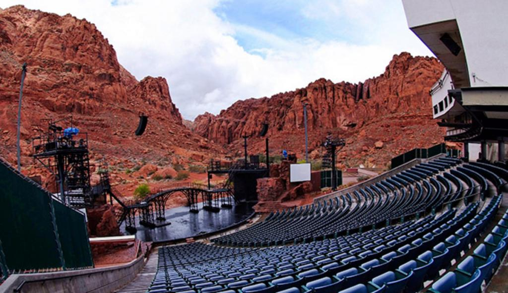 Tuacahn, without people