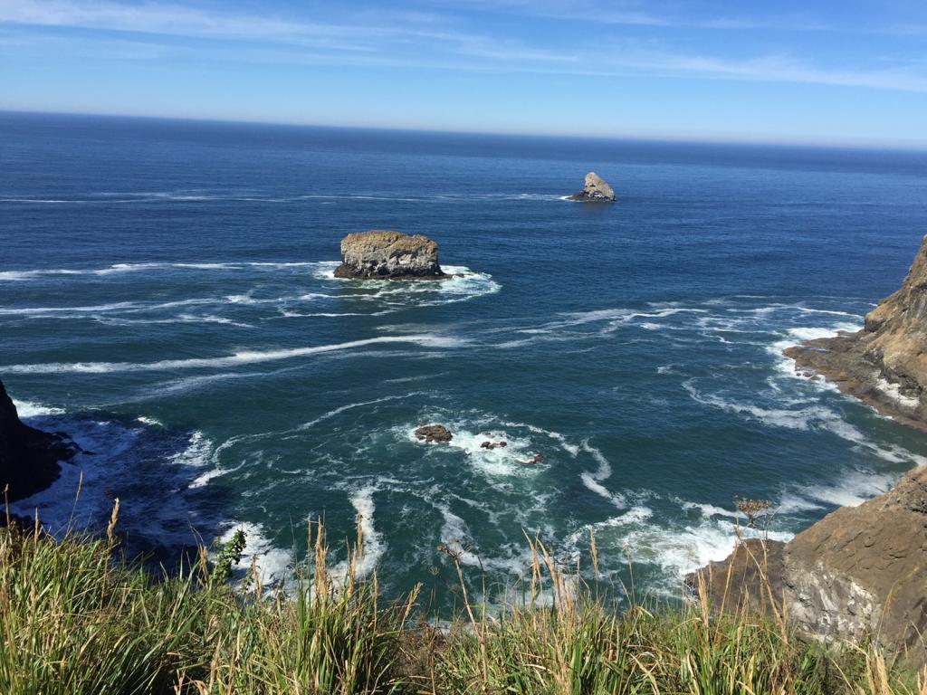 On the Oregon seacoast