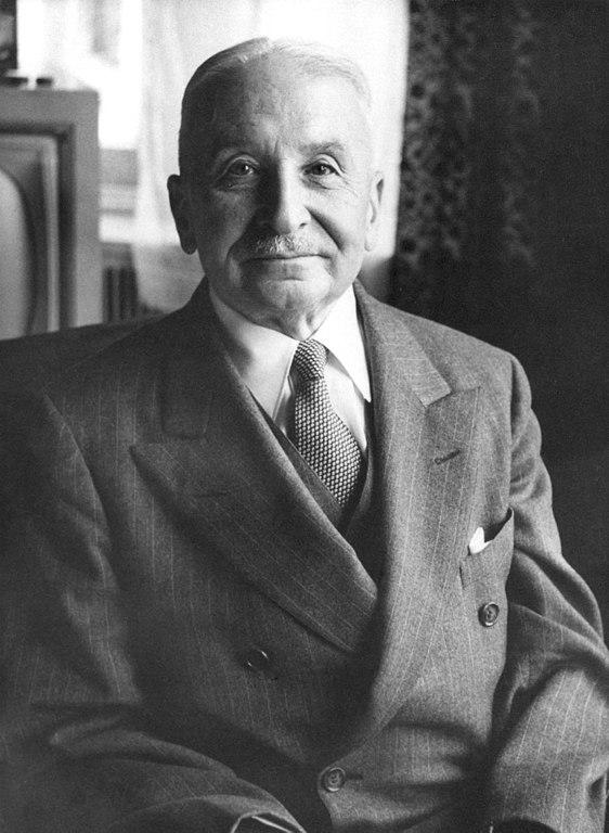 Von Mises, whom, alas, I never met