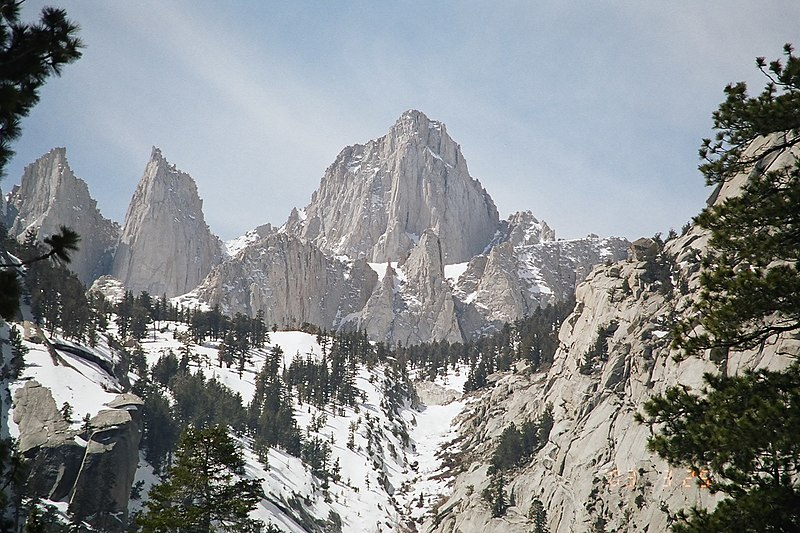 Mt. Whitney from the east