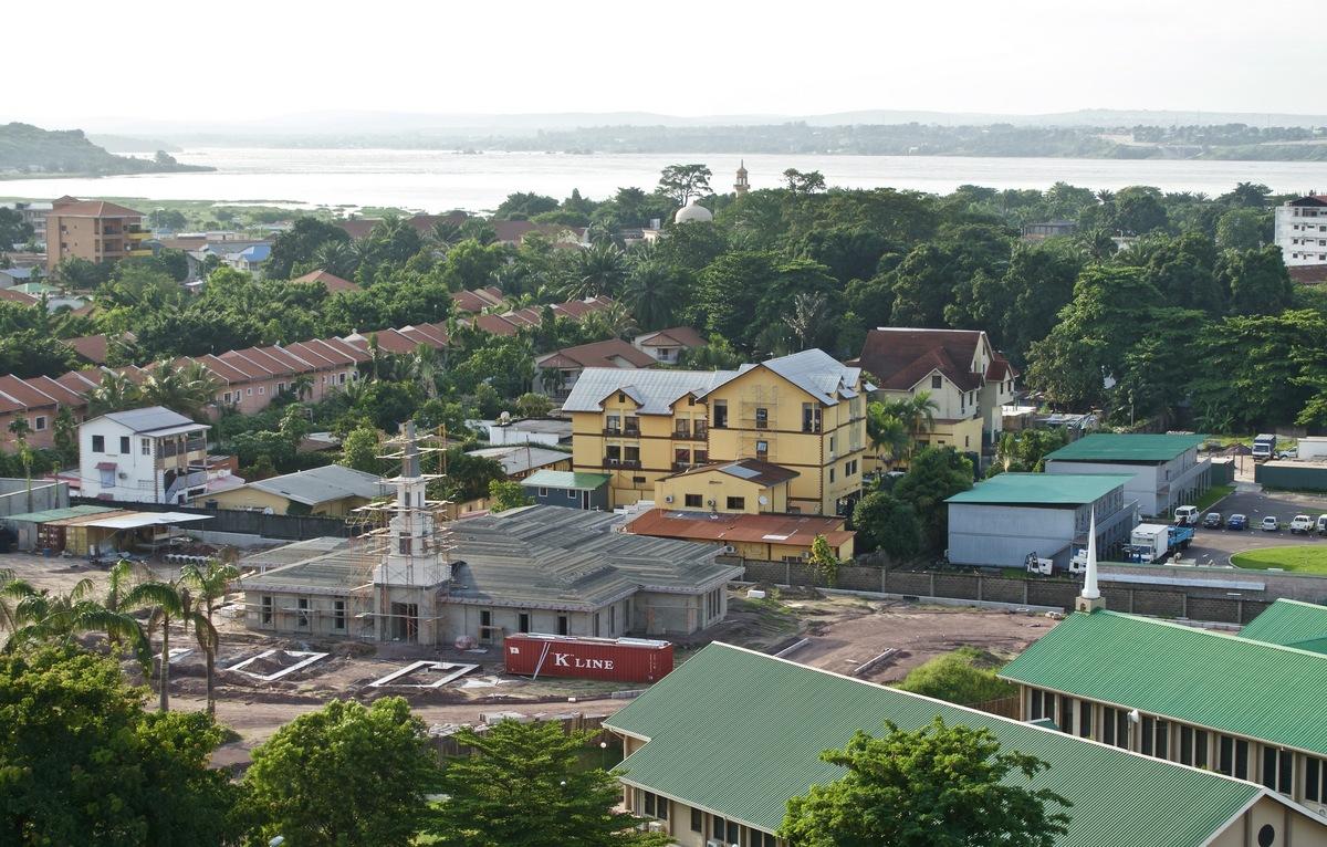 Bradshaw photo of Kinshasa Temple