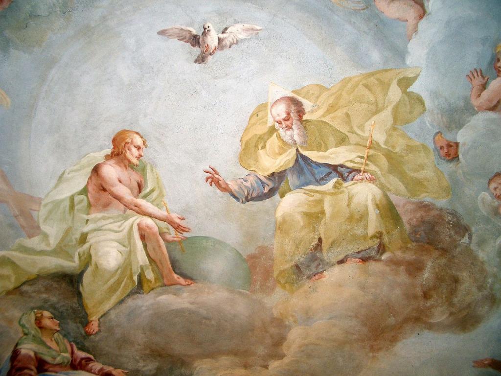 Holy Trinity, in art