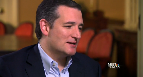 Ted Cruz 'salutes' Donald Trump's extremely racist remarks on immigration