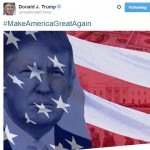 Donald Trump just tweeted Nazi soldiers on the American flag