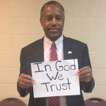 Ben Carson asks Christians to change Facebook photo and 'take a stand'