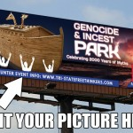 'Genocide & Incest Park' billboard to be raised near the Ark Encounter