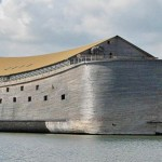Noah's Ark crashes into a Norwegian Coast Guard vessel