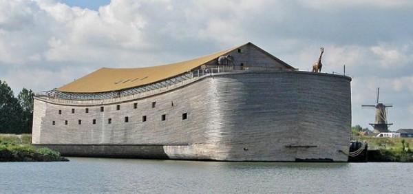Noah's Ark crashes into a Norwegian Coast Guard vessel ...
