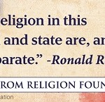 Atheist group to erect Ronald Reagan billboard proclaiming the separation of church and state
