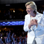 In historic speech, male political pundits only focus on Hillary Clinton's 'tone'