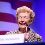 Phyllis Schlafly is dead and should be remembered as a horrible human being