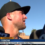 Christians claim Tim Tebow stopped a fan's seizure by praying. He didn't.
