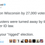 Clarification on the now viral Wisconsin voter suppression tweet