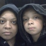 rob and I in hoodies
