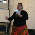 Teaching at a youth leadership empowerment conference in Oakland