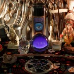 Photo of my altar, taken by my friend Del