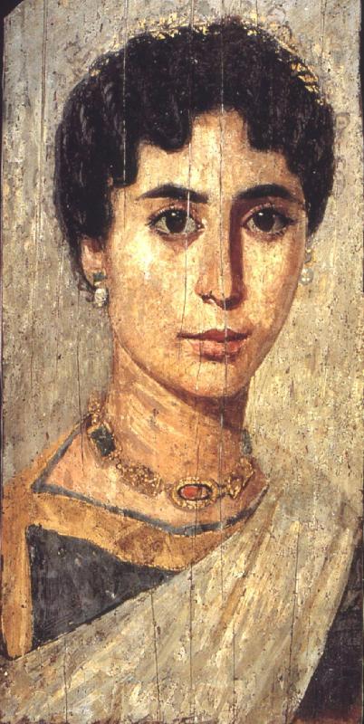 portrait of an alexandian woman