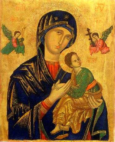 "Defense of ""Our Lady of Perpetual Help"" vs. Calvinists"