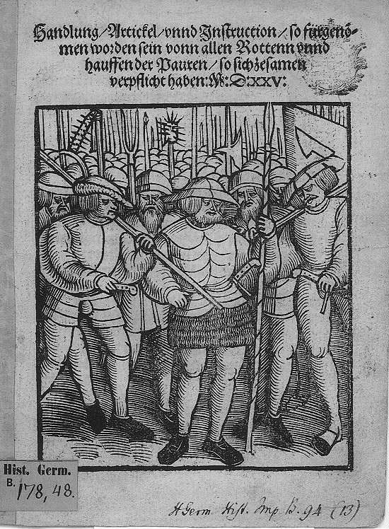 bauernparlament in memmingen 1525