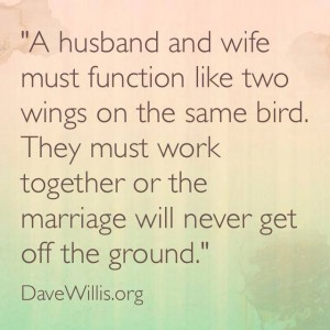 Dave Willis marriage quotes quote husband wife wings bird
