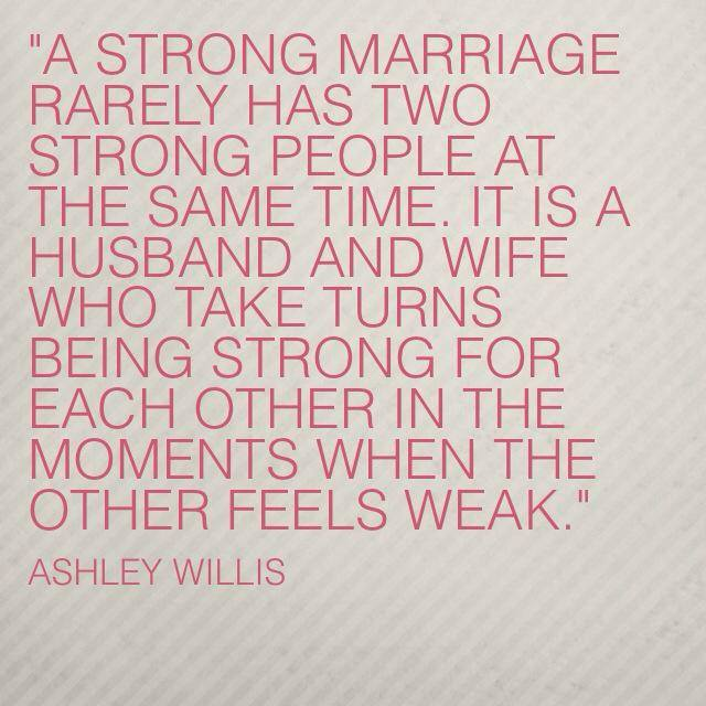Ashley Willis Marriage Quote