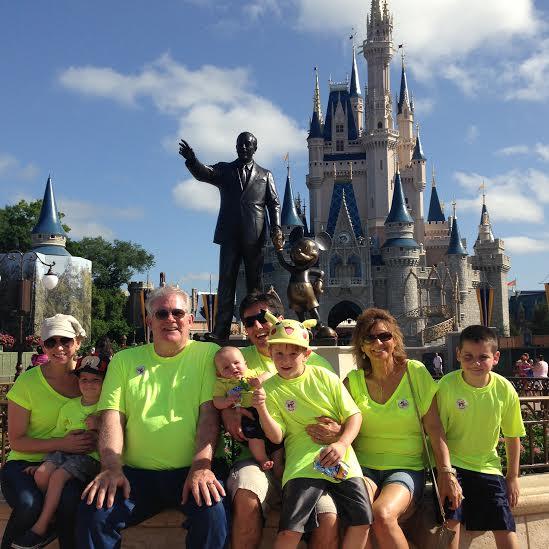 Dave and Ashley Willis family Disney