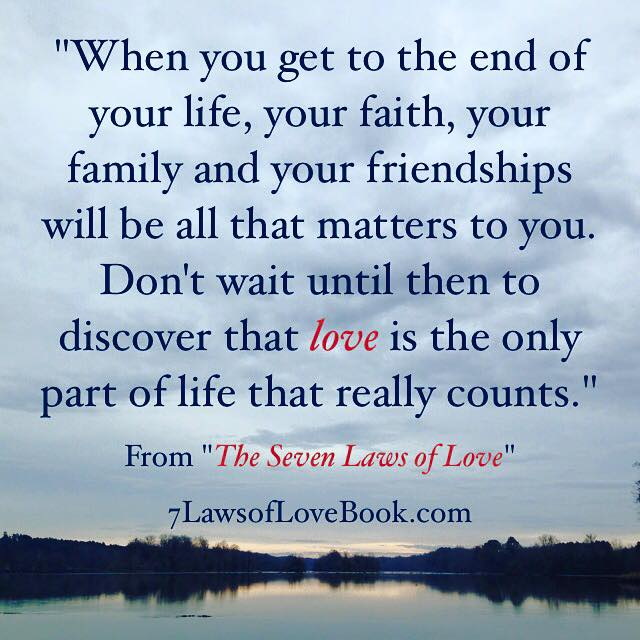 Laws Of Life Quotes Glamorous The Seven Laws Of Love Quotes From The Book