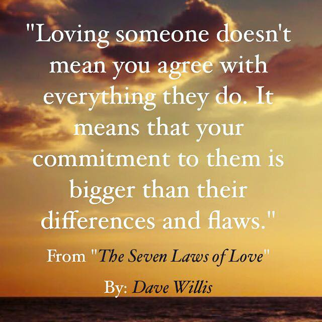 New Relationship Love Quotes: The Seven Laws Of Love (Quotes From The Book)