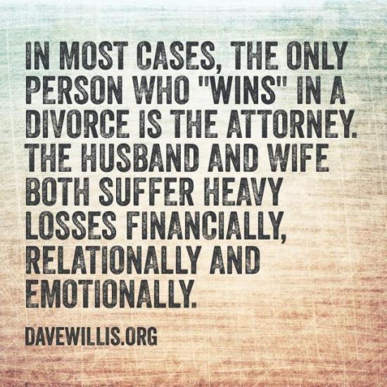 5. God hates divorce* (but He loves divorced people).
