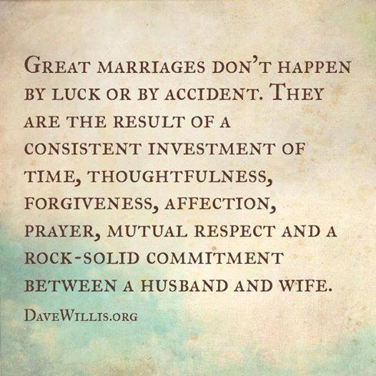 4. Every wife needs love and every husband needs respect.