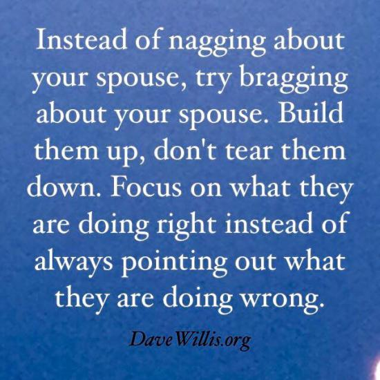 3. Stop nagging your husband