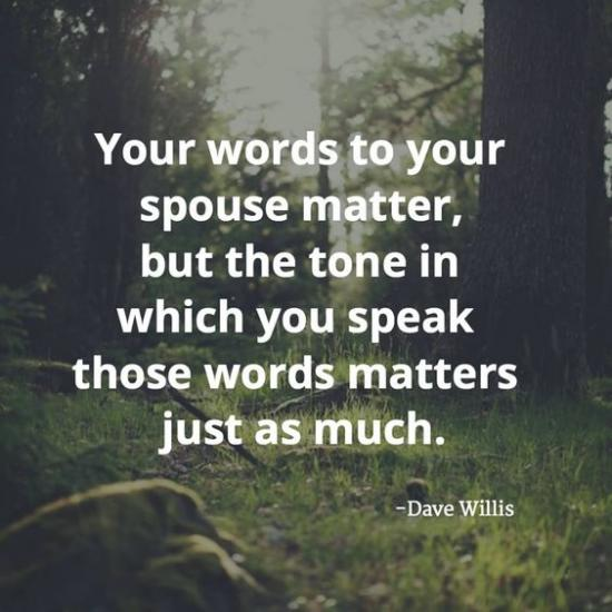 3. Refuse to VENT to your spouse or about your spouse to others.