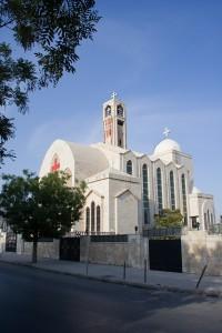The Coptic Church in Amman.